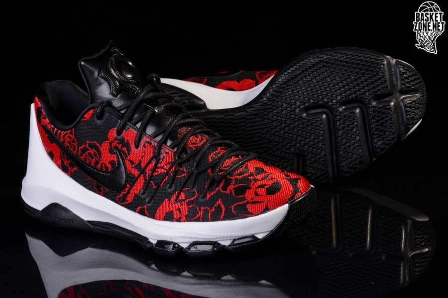 NIKE KD 8 EXT RED FLORAL LIMITED
