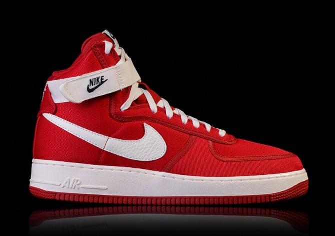NIKE AIR FORCE 1 HIGH RETRO GYM RED price €109.00 | Basketzone.net