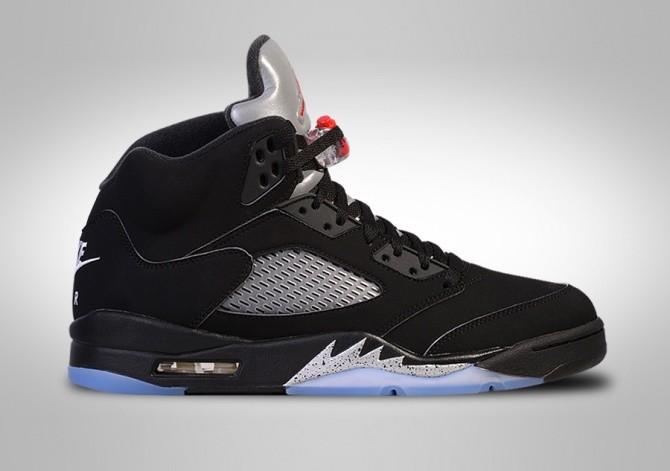 Damskie Buty Nike Air Jordan 5 (V) Retro Czarny Różowy Sklep