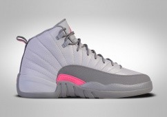 NIKE AIR JORDAN 12 RETRO WOLF GREY VIVID PINK