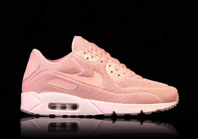 Nike Air Max 90 Ultra 2.0 BR (GS) Pure Platinum Racer Pink White