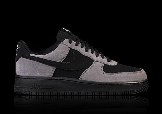 nike air force dark grey lighjt