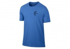 NIKE DRY BASKETBALL LOGO TEE GAME ROYAL