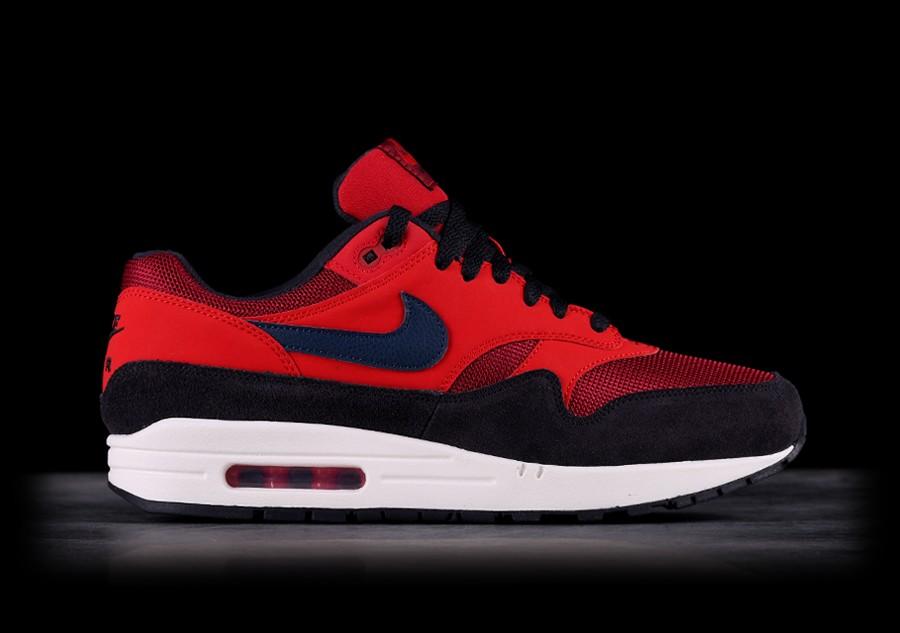 air max 1 rood zwart