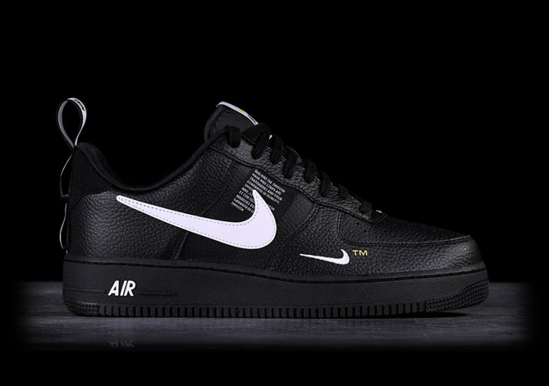 NIKE AIR FORCE 1 '07 LV8 UTILITY BLACK price €105.00 ...