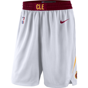 NIKE NBA CLEVELAND CAVALIERS SWINGMAN HOME SHORTS