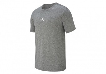 NIKE AIR JORDAN JBSK PHOTO TEE CARBON HEATHER