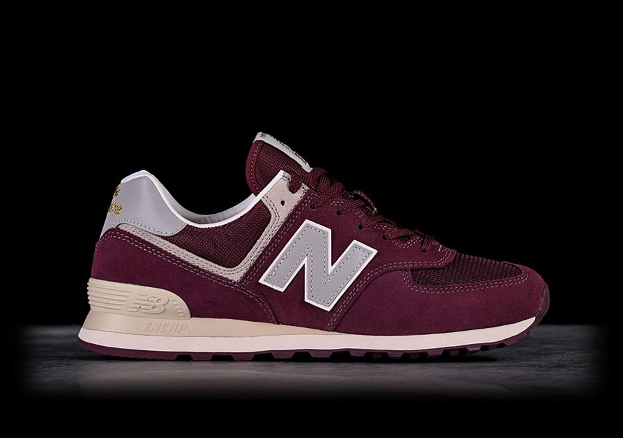 burgundy new balance 574 size 3
