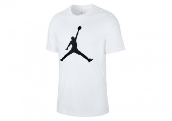 NIKE AIR JORDAN JUMPMAN TEE WHITE