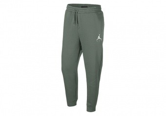 NIKE AIR JORDAN SPORTSWEAR JUMPMAN FLEECE PANTS VINTAGE LICHEN