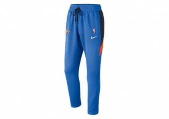 NIKE NBA OKLAHOMA CITY THUNDER THERMAFLEX SHOWTIME PANTS SIGNAL BLUE