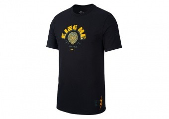 NIKE LEBRON JAMES KING ME DRI-FIT TEE BLACK