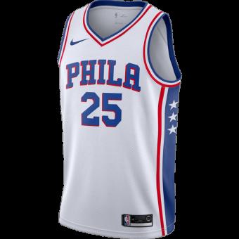 NIKE NBA PHILADELPHIA 76ERS BEN SIMMONS SWINGMAN HOME JERSEY