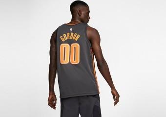 NIKE NBA ORLANDO MAGIC AARON GORDON CITY EDITION SWINGMAN JERSEY ANTHRACITE