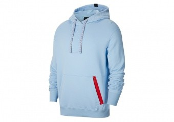NIKE DNA BASKETBALL HOODIE PSYCHIC BLUE