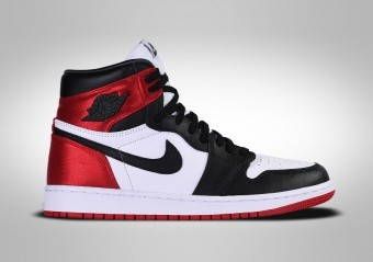 NIKE AIR JORDAN 1 RETRO HIGH OG WMNS SATIN BLACK TOE