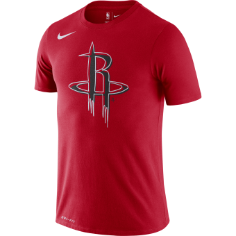 NIKE NBA HOUSTON ROCKETS LOGO DRI-FIT TEE