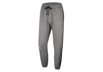 NIKE NBA LOS ANGELES LAKERS THERMA FLEX SHOWTIME PANTS DARK GREY HEATHER