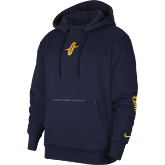 NIKE NBA GOLDEN STATE WARRIORS COURTSIDE CITY EDITION PULLOVER HOODIE
