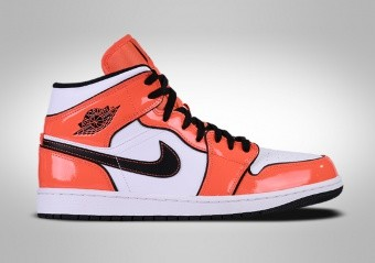 NIKE AIR JORDAN 1 RETRO MID SE ORANGE