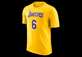 NIKE NBA LOS ANGELES LAKERS LEBRON JAMES TEE 6