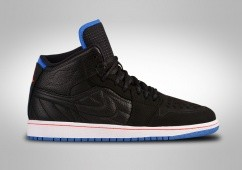 NIKE AIR JORDAN 1 RETRO '99 BLACK SPORT BLUE