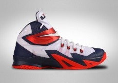 NIKE ZOOM SOLDIER VIII LEBRON DREAM TEAM USA HOME